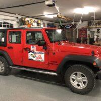RHD Jeep Wrangler