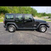 2012 Jeep Wrangler Unlimited RHD